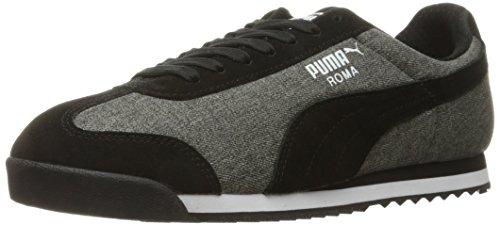 Puma Uomo Roma Denim S Moda Sneaker Puma Nero / Ombra Scura