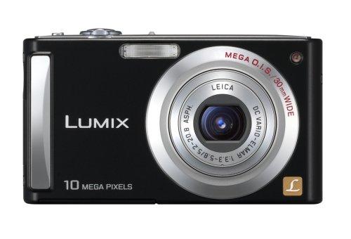 (Panasonic Lumix DMC-FS5P-K 10.1MP Digital Camera with 4x Wide Angle MEGA Optical Image Stabilized Zoom (Black))