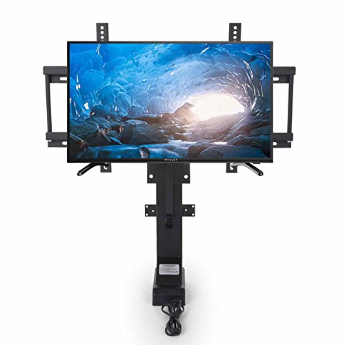 Mophorn Motorized TV Lift Flat TV 1000mm TV Lift Mechanism Auto Lifting Adjustable Height with Wireless RF Remote Controller for Plasma LCD LED TV and Monitors (for 28