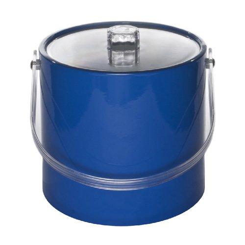 (Mr. Ice Bucket 705-1 Regency 3-Quart Ice Bucket, Specter Blue)