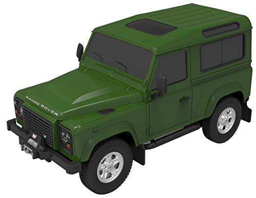 [해외]124 RC 카 랜드 로버 디펜더 그린 전기 라디오 제어 14225 / 124 RC car Land Rover Defender Green Electric radio control 14225