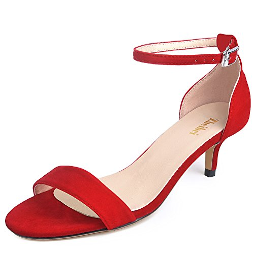 Red Strappy Sandals: Amazon.com