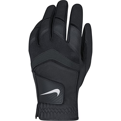 Nike Men's Dura Feel Golf Glove (Black), Medium-Large - Cadet, Left Hand