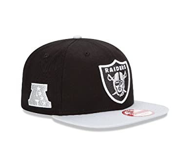 NFL Oakland Raiders Baycik 9Fifty Snapback Hat, M/L