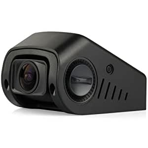 """A118-C 1080p HD Car Dash Camera with Capacitor G-Sensor 1.5"""" HD Screen 170 Degree Wide Angle Lens Records at 60 FPS with Loop Recording"""