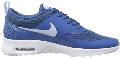 Porpoise Max blanc NIKE Bleu Wmns pour femme Blau Bleue Air Chaussures Brigade Thea w77PrE