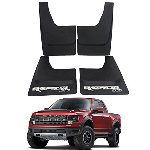 Mud Flaps for Ford F150 SVT Raptor 2010-2014 Front & Rear side Splash Guards