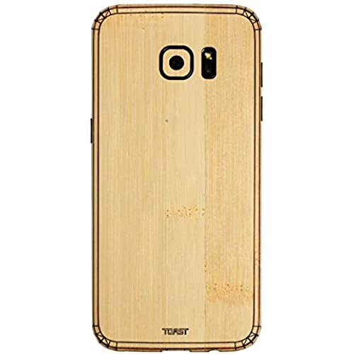 TOAST Real Wood Skin for Samsung Galaxy S7 Edge - Retail Packaging - Bamboo Sales