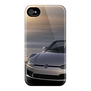 Hard Plastic Iphone 4/4s Case Back Cover,hot Volkswagen Bluesport Case At Perfect Diy by ruishername