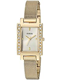 GUESS Women's Quartz Stainless Steel Casual Watch, Color:Gold-Toned (Model: U0953L2)