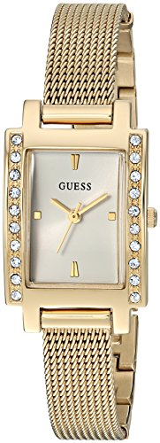 GUESS-Womens-Quartz-Stainless-Steel-Casual-Watch-ColorGold-Toned-Model-U0953L2