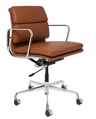 (Laura Davidson SOHO Premier Management Chair (Soft Pad, Brown))