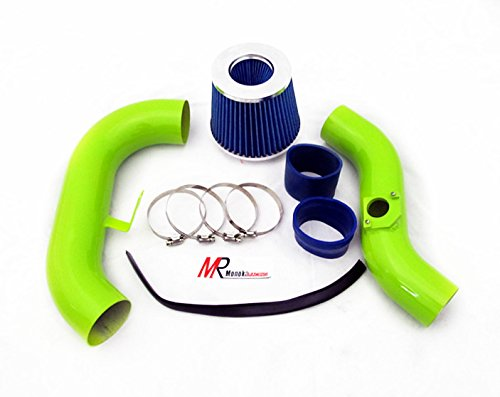 02-03-04-05-06-subaru-wrx-sti-20l-25l-turbo-green-piping-cold-air-intake-system-kit-with-blue-filter