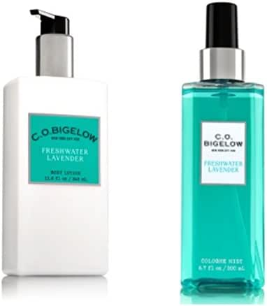 C.O. BIGELOW - Bath & Body Works GIFT SET- New scent collection of unisex fragrance,FRESHWATER LAVENDER,11.6 oz. body lotion,6.7 oz.Mist fragrance ,.!!...
