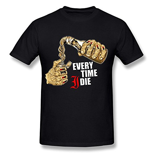 Men's EVERY TIME I DIE Album Logo T-shirt - Shirt Matt Cain