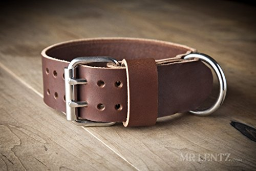 Handmade Leather Dog Collars - 3