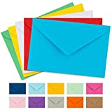 """Colorful Envelopes 5"""" x 7"""" Assorted Colors 105 Pack"""