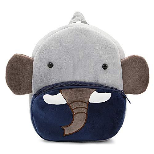 Abshoo Zoo Toddler Kids Backpacks Cute Plush Little Girls Boys Animal Backpacks (Elephant)