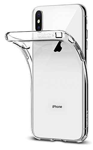 Price comparison product image Spigen Liquid Crystal iPhone X Case with Slim Protection and Premium TPU for Apple iPhone X (2017) - Crystal Clear
