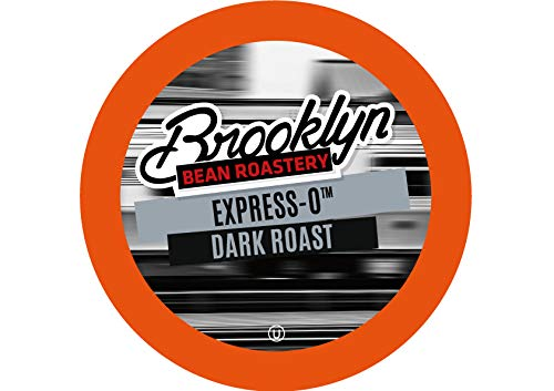 Brooklyn Beans Express-O Coffee Pods, Compatible with 2.0 K-Cup Brewers, 40 Count (O Pods)