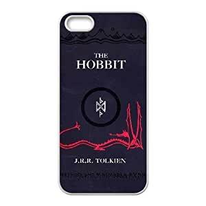 Personalized Durable Cases iPhone 5, 5S Cell Phone Case White The Hobbit Trwdpv Protection Cover