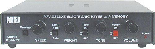 MFJ-407E Deluxe Electronic Keyer With Memory ()