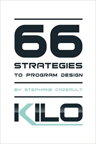 66 Strategies to Program Design: Amazon.es: Stephane Cazeault: Libros en idiomas extranjeros