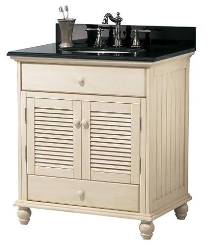 Pegasus CTAA3022D Cottage 30-Inch Vanity, Premium Antique White - Pegasus CTAA3022D Cottage 30-Inch Vanity, Premium Antique White