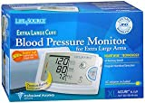 LifeSource Blood Pressure Monitor for Extra Large Arms - Each, Pack of 4
