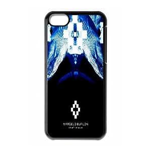 Marcelo Burlon S1U2Go iPod Touch 6 Caso Funda Negro Diseño O9K4EQ funda caja del teléfono