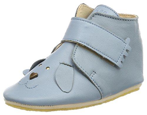 Easy Peasy Kiny Chien - Zapatillas de casa Bebé-Niños Azul (Azur)