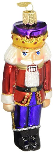 Old World Christmas Nutcracker Prince Glass Blown (Old World Christmas Nutcrackers)