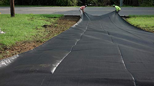 ArmorLay Commercial Grade Driveway Fabric (Black, 12.5' X 30') by Garden Armor (Image #3)