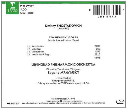 Symphony 10 by Erato