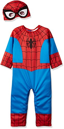 Suit Yourself Spider-Man Halloween Costume for Babies, 6-12 M, Includes Accessories]()