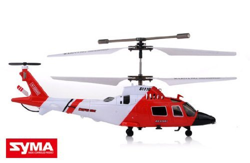 S111G Mini Co-Axial Infared MH-68A Hitron U.S Coast Guard RC Helicopter GYRO