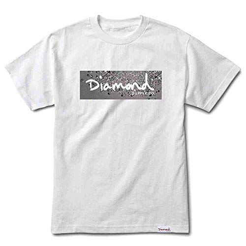Diamond Supply Co Scatter Box Logo T-Shirt White by Diamond Supply Co