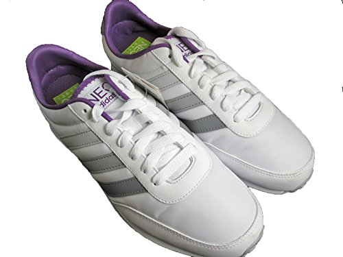 Adidas V Racer Nylon Woman's shoes White Size 36