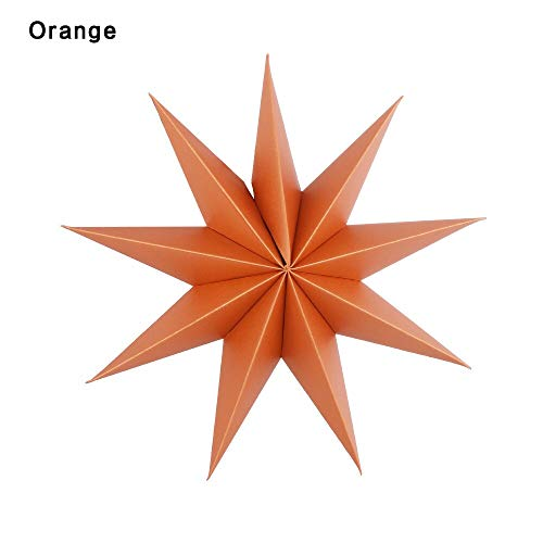 Party Diy Decorations - Paper Star Decoration 30cm Nine Angles Tissue Lantern Hanging Stars Party Decor - Decorations Party Party Decorations Plastic Solar Panel Lantern Star Grand Table -