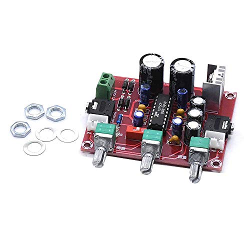 WINGONEER 12V XR1075 BBE Tone Adjust Module Bass Treble Volume Control 2 Channel
