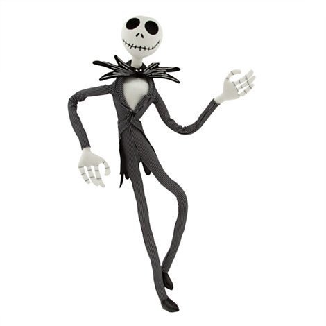 Jack Skellington Poseable Plush - Medium - 26]()