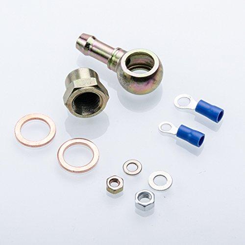 Anschlusskit f/ür Bosch 044 957 413 Benzinpumpe M12x1,5 auf 12mm Schlauch
