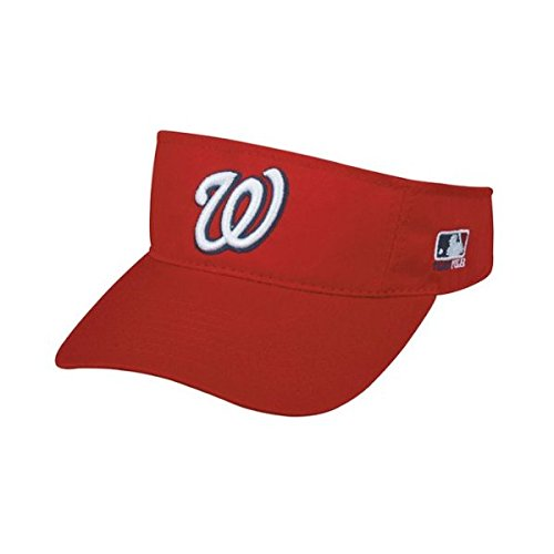 Indians Adult Home Jersey - MLB ADULT Cleveland INDIANS Home Blue/Red VISOR Adjustable Velcro TWILL