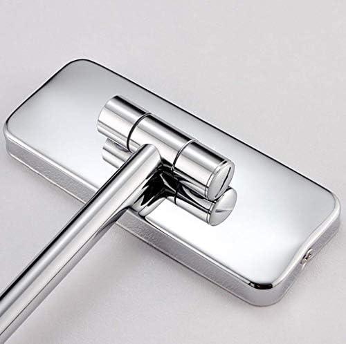 HSBAIS 化粧鏡の壁のバニティミラー美容メイクアップミラー、3倍の拡大、理想的なメイクアップとシェービング,Gold_8 inch