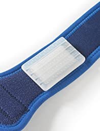 NEO G ITB Strap - Medical Grade Quality, Premium Silicone Pad HELPS stabilize muscles, Iliotibial Band Friction Syndrome, ITB, lateral knee pain, recovery & rehabilitation - ONE SIZE Unisex Strap