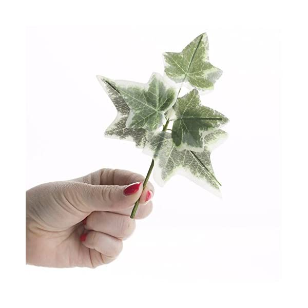 Factory-Direct-Craft-Group-of-6-Versatile-Artificial-Ivy-Leaf-Picks-for-Wedding-Decor-Floral-Arranging-and-Embellishing