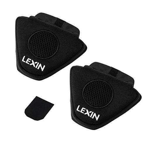 LEXIN Motorcycle Half Helmet Ear Pad for Headphone for Motorcycle Bluetooth Headset Speakers