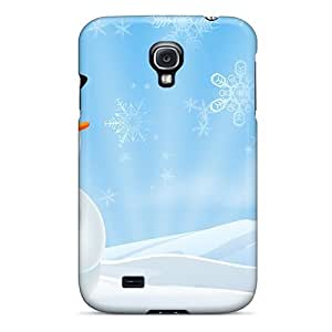 New Design Shatterproof Case For Galaxy S4 (happiest Snowman)