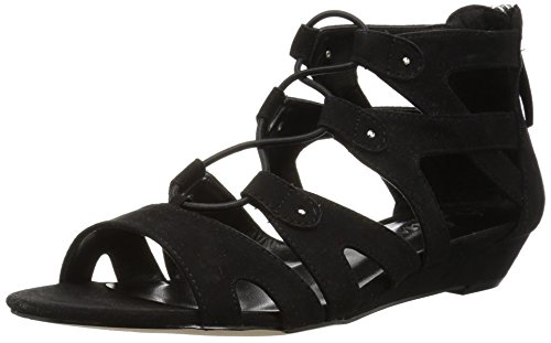 Callisto Women's Lexx Flat Sandal Black Sd MhhHW0chrC