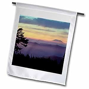 Danita Delimont - Washington - Washington. Mt St Helens from Mt. Hood Wilderness - US48 BJA0076 - Jaynes Gallery - 18 x 27 inch Garden Flag (fl_95116_2)